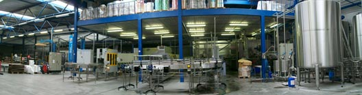 A panoramic view of our production line.